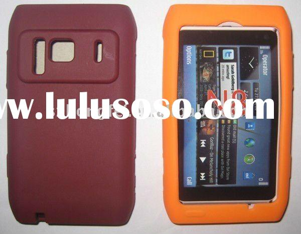 Custom made silicone cellphone case for Nokia N7