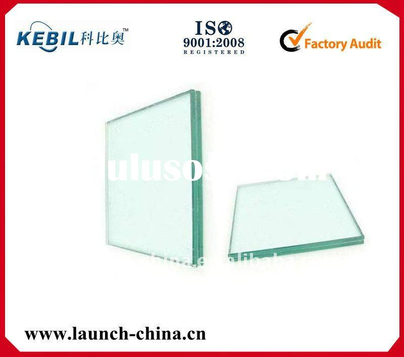 Custom-made tempered glass panel