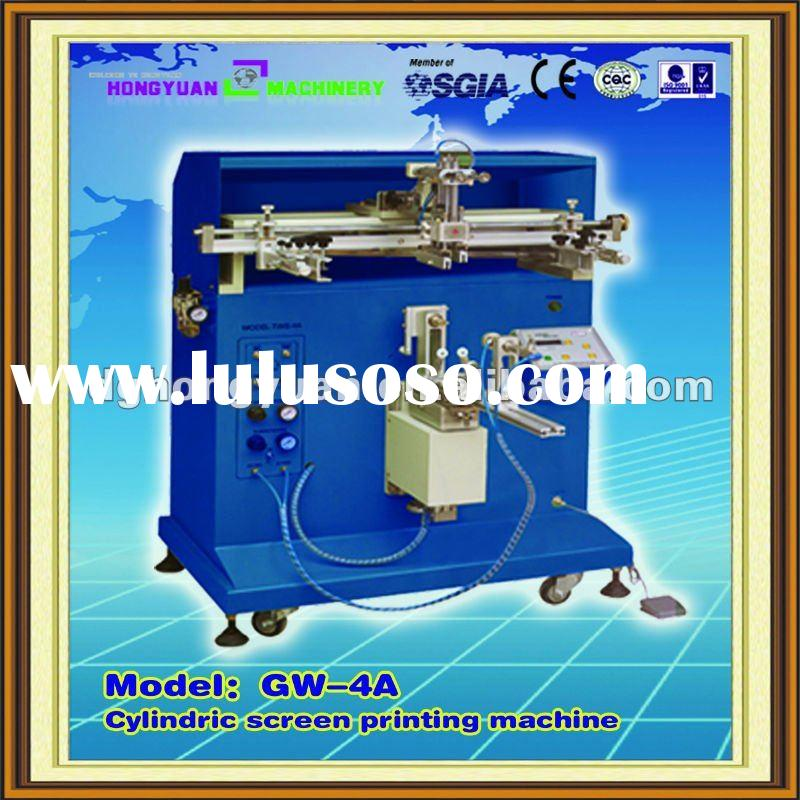 Cylindrical /curved Silk Screen Printing Equipment