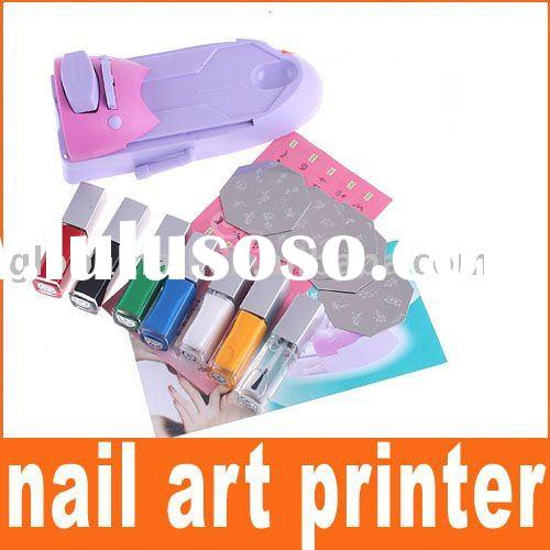 DIY Nail Art Print Pattern Printing Machine Stamp Set