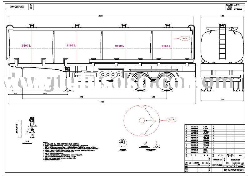 Tank Trailer Components : Trailer axles tank manufacturers in
