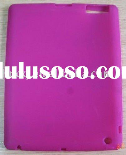 Dark Pink Silicone Case for iPad 2