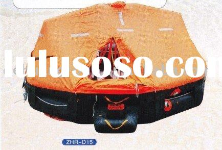 Davit-launching Type Inflatable Life raft Type D for 25 people