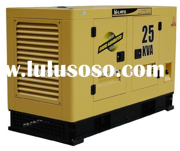 Deutz water-cooled silent diesel generator set 25KVA