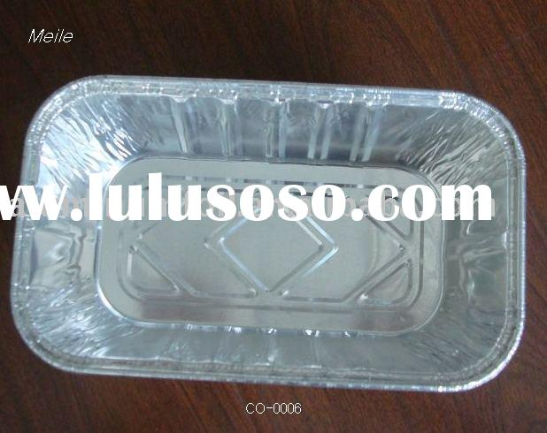 Disposable Food Container/aluminum foil plate