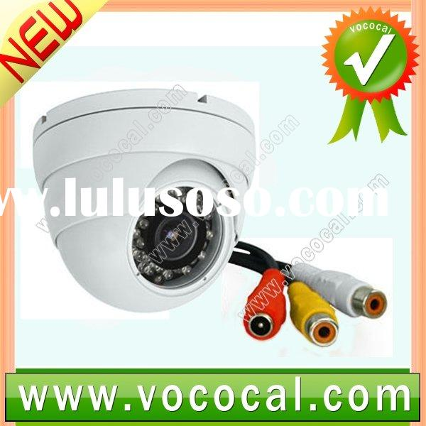 Dome Day Night Camera CCTV Security Audio Video Mic PAL