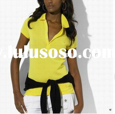 Dry Fit polo shirts Hot-selling Discount Lady T-shirts For Chrismas