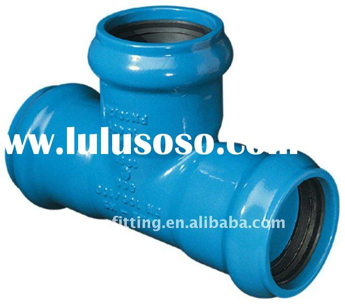 Ductile iron pipe mj fittings dimensions
