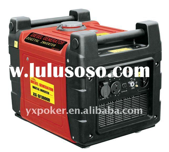 EPA accept 3600W digital Portable inverter diesel generator set