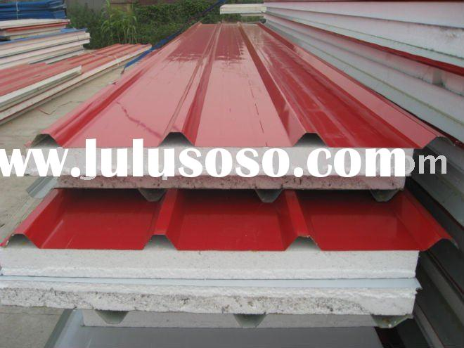 Eps Foam Roof Panels : Insulated aluminum roof panels miami