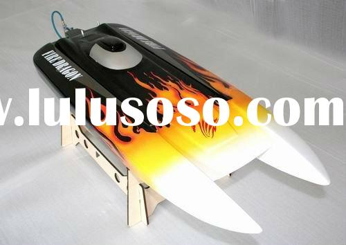Eletric rc boat King Dragon, Single Motor,Fiber Glass
