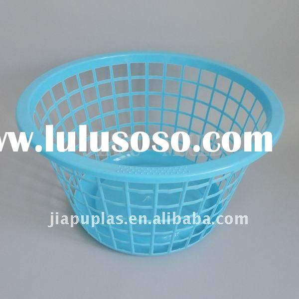 Family plastic round laundry basket-0224