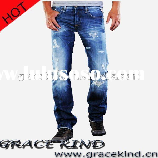 Fashion Denim Mens Jeans 2012 ,Deisgner Men Jeans Overall