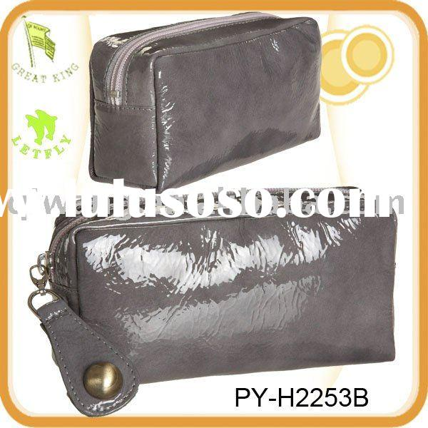 Fashion Patent Leather Cosmetic bag
