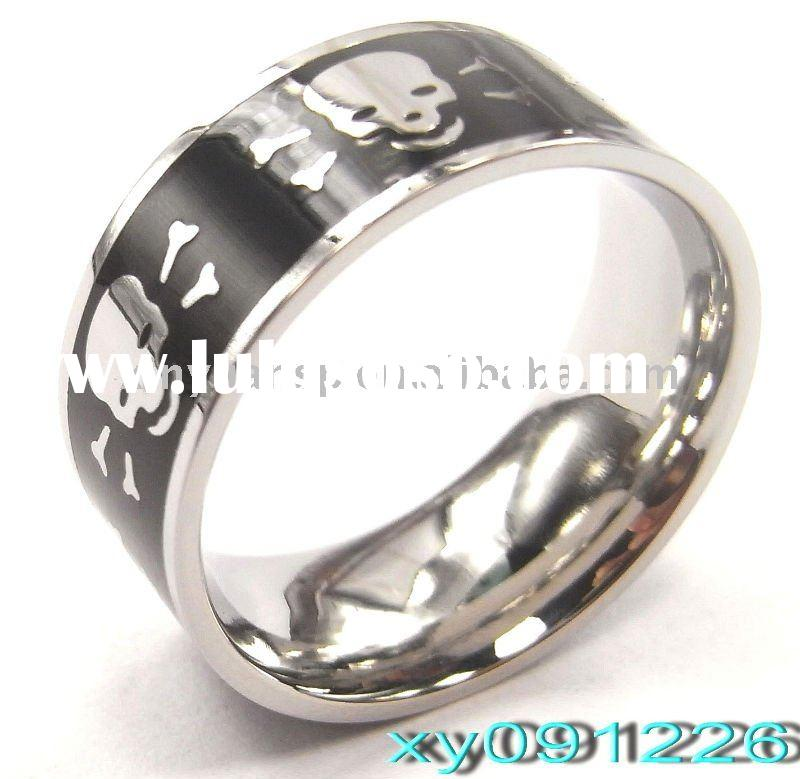 Fashion Skull 316L Stainless Steel Rings
