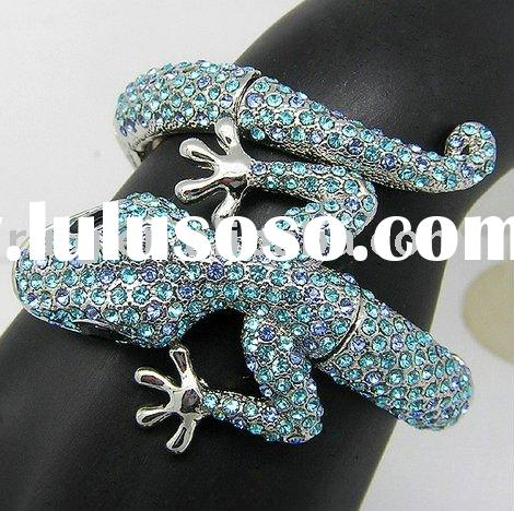 Fashion crystal india animal designer bracelet bangle designer fashion fancy bangles