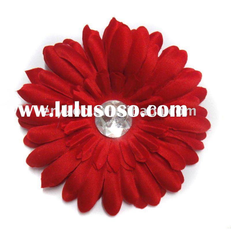 "Fashionable 4"" Gerbera Daisy Flower Hair Accessory"