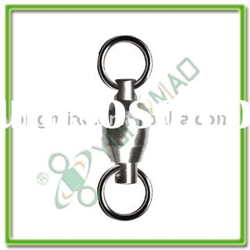 Fishing tackle accessories Ball bearing swivel with solid ring