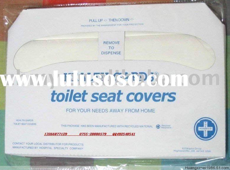Flushed/Disposalbe Toilet Seat Cover Paper
