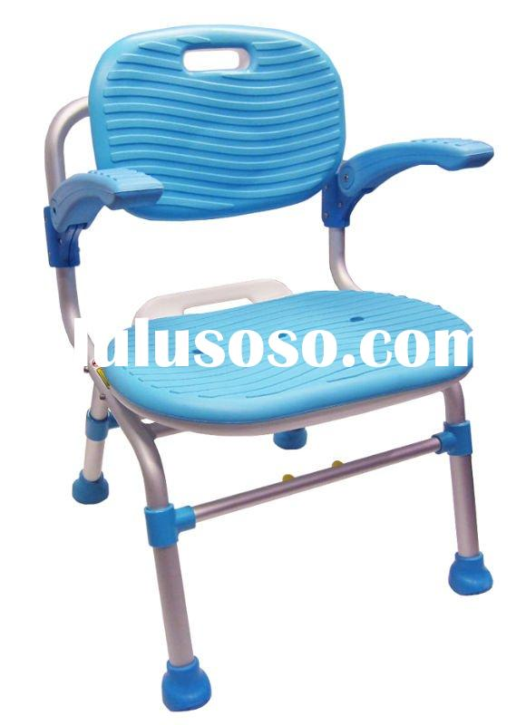 Folding Shower Chair with Armrest