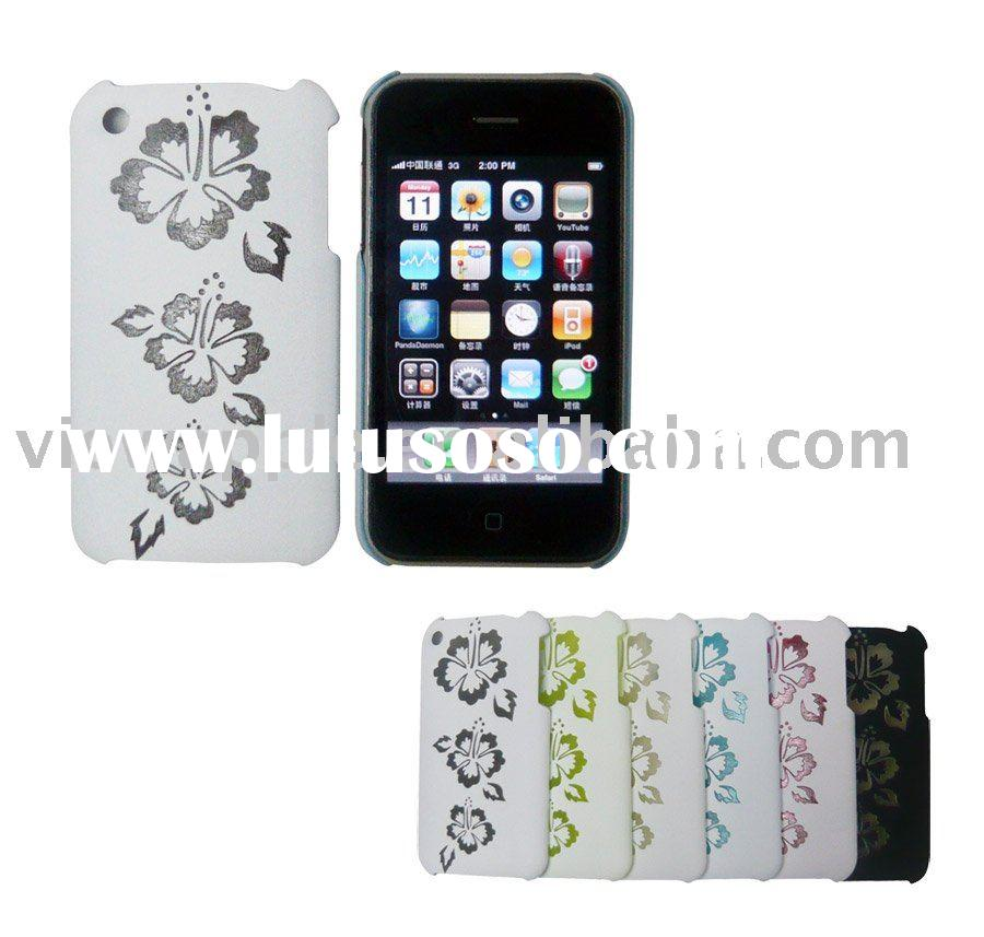 For iphone 3G case (Hawaii flower back cover case for iphone 3G/3GS )