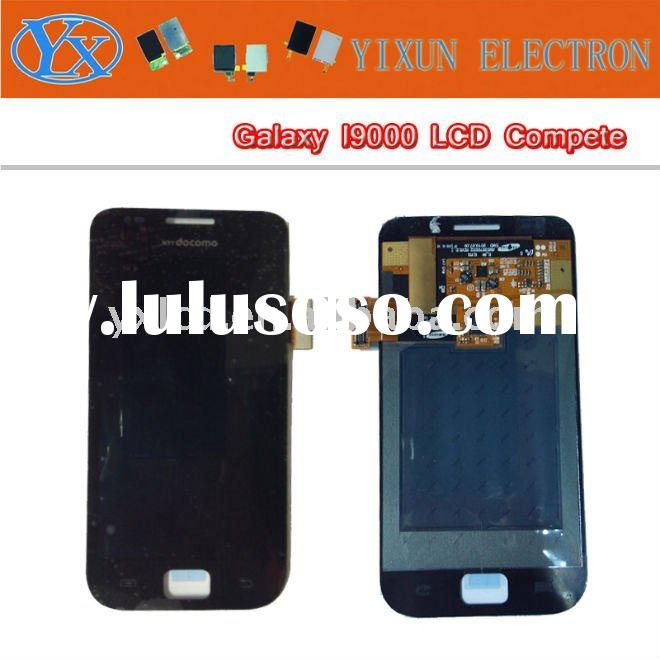 For samsung Galaxy S I9000 LCD&touch digitizer assembly