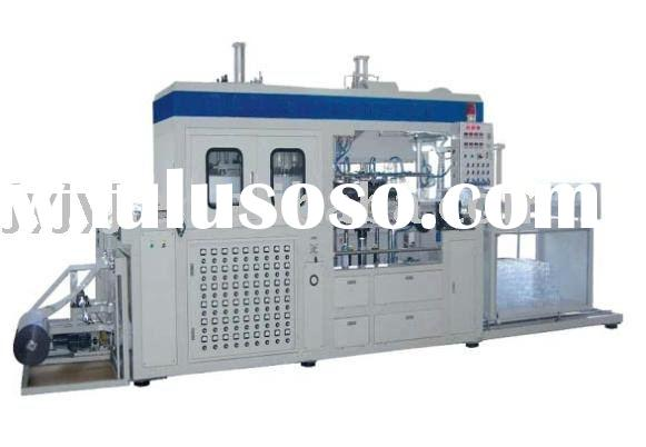 Full-Automatic HIgh Speed Plastic Vacuum Forming Machine