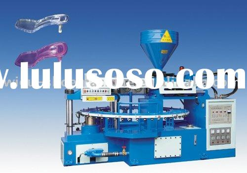 Full-auto Rotary Type Mono-color Plastic-Rubber Sole Injection Moulding Machine