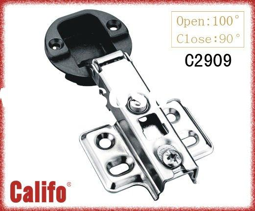 Furniturer cabinet glass door hinges /Kitchen cabinet door hinge with direct selling #C0909