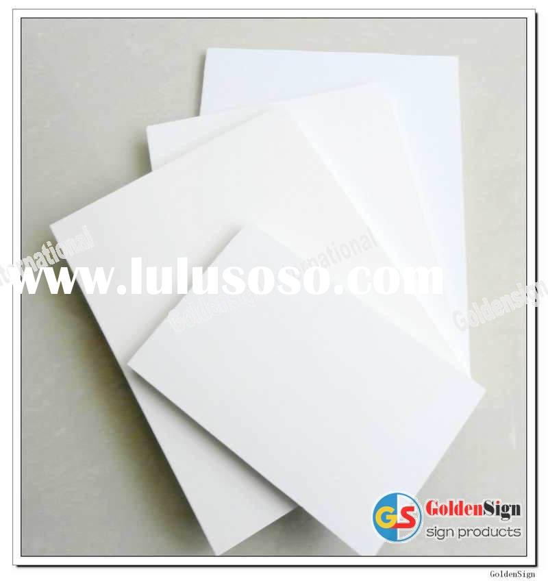 GS white foam pvc sign sheet