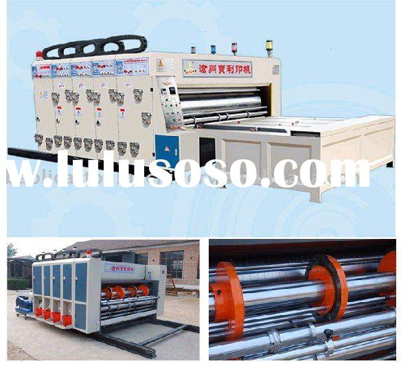 GYK high-speed ink printing pressing corner-cutting and slotting machine(Printing Slotter,Printing s