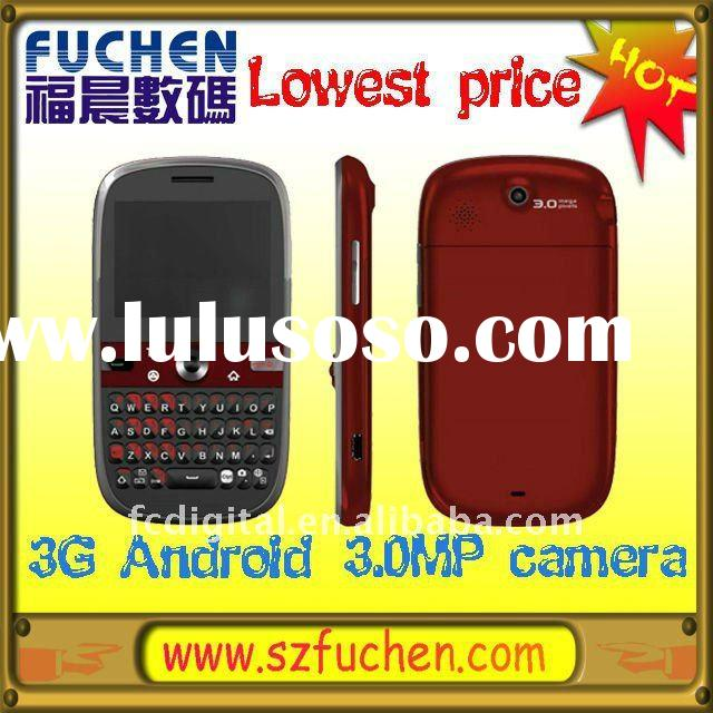 Gift mobile phone, Cheapest Single SIM 3G android mobile phone, made by Foxconn