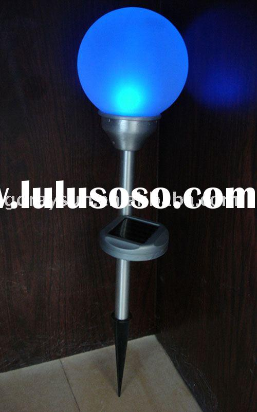 Glass Ball Solar Garden Decoration Lamp