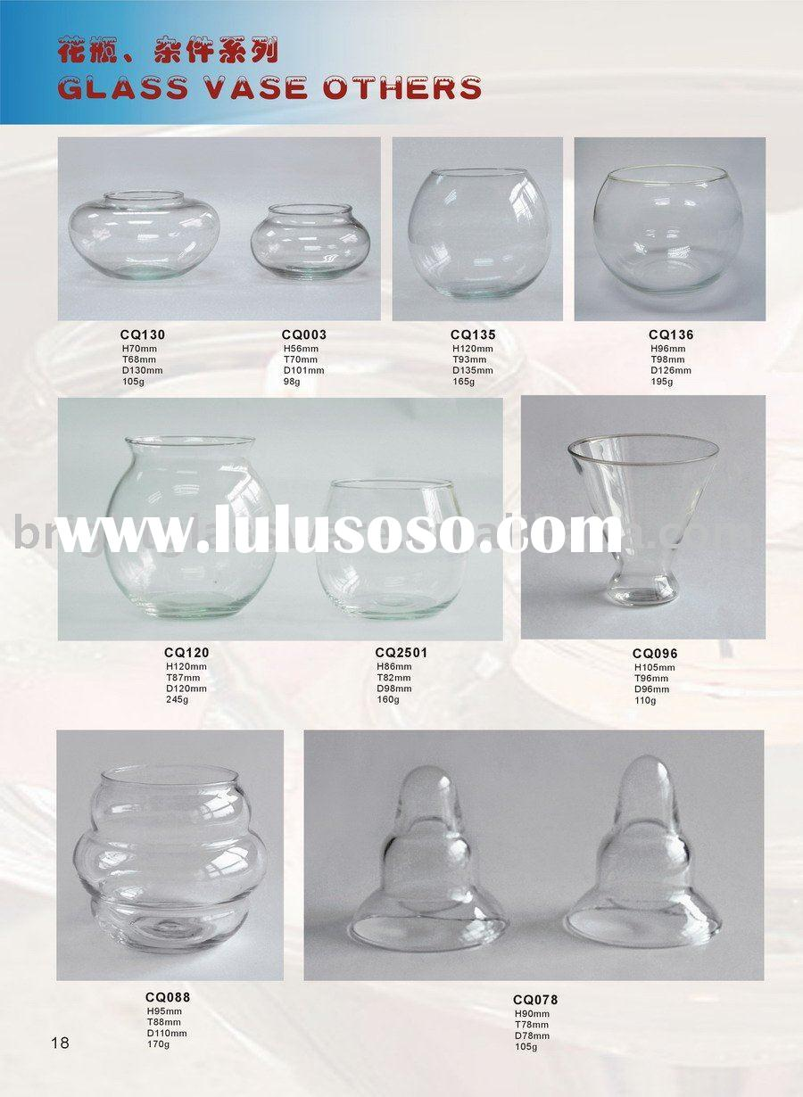 Glass lighting lamp shade and candle holder