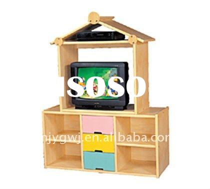 Good quality kids wooden TV cabinet at competitive price