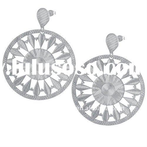Gorgeous stainless steel Dangle Earrings hot jewelry & Gift accessories
