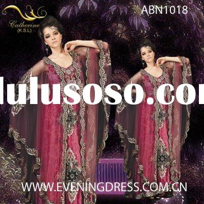 Guangzhou red and black wedding dresses 2012 ABN1018