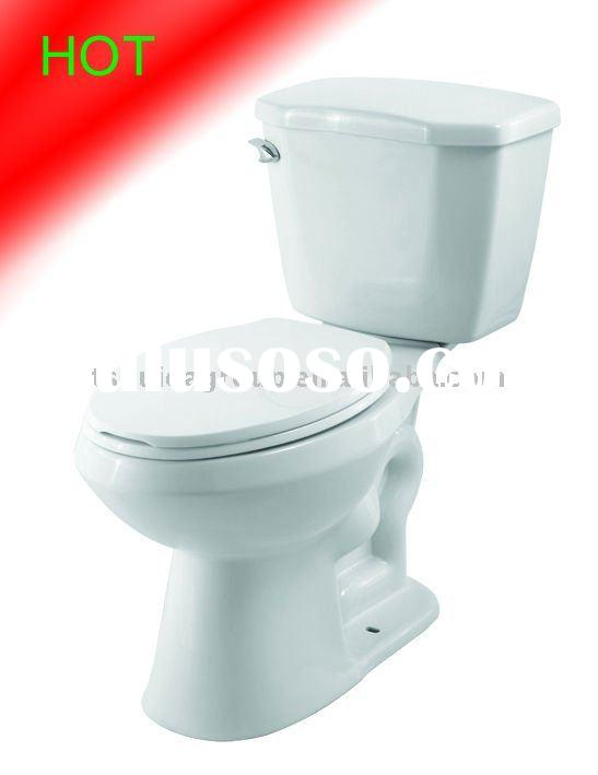 HDC371A/S208E S-trap jet siphonic two piece toilet