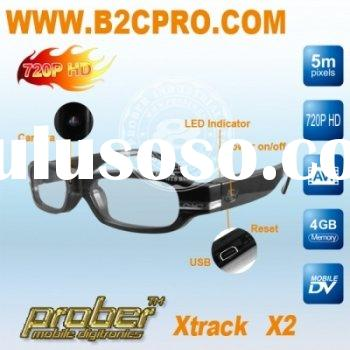 HD video glasses recorder