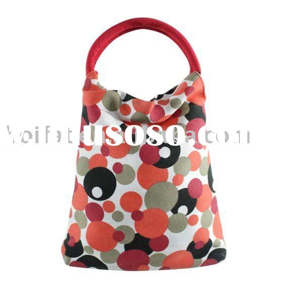 Handbags kids bags polyester tote bag PVC children bags printing canvas small bag PU mini bag cheap