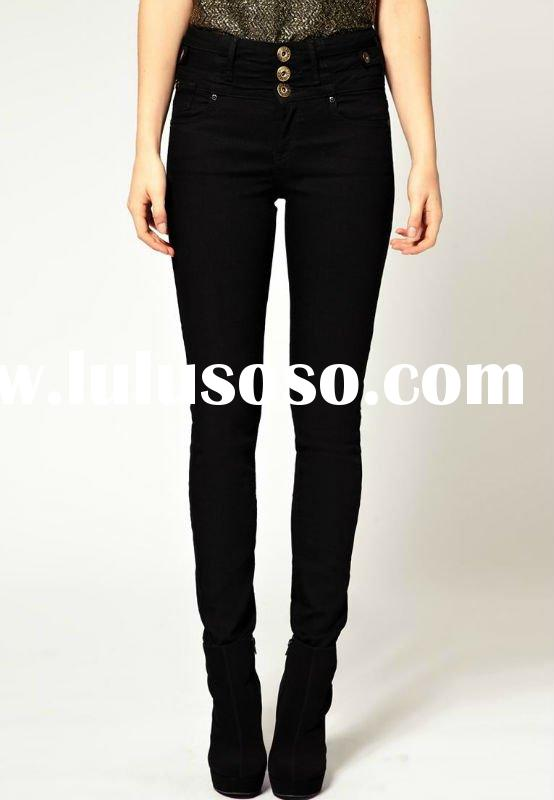 Black Skinny Jeans High Waisted
