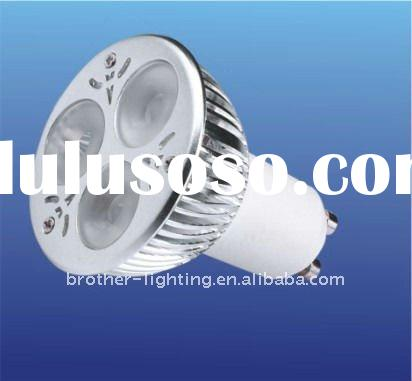 High lumen 6W Dimmable GU10 LED Spot light Bulb, CE&ROHS