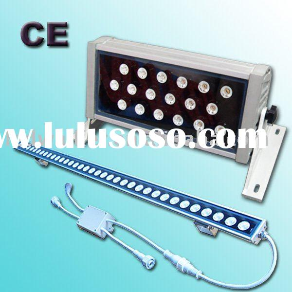 High power DMX led wall washer