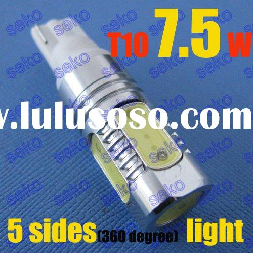 High power T10 W5W 194 168 175 501 led car bulb