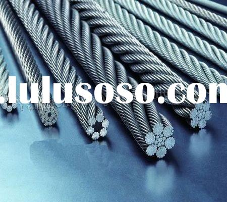 High tensile stainless steel wire rope 316L