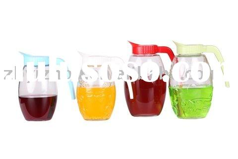 Hight Quality Glass Carafe with Plastic Lid