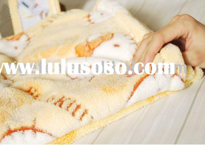 Home Textile/High quality cotton Blanket/Hello Kitty blanket