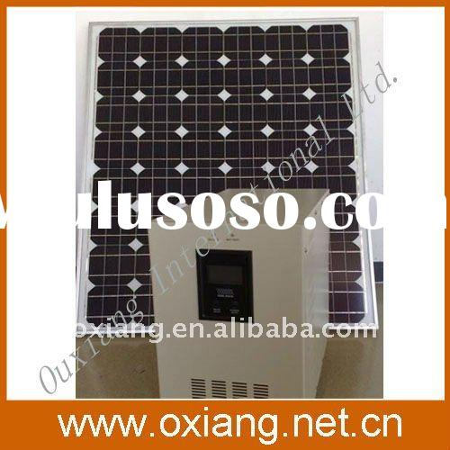 Home solar power generator system with 120w solar panels OX-SP080A