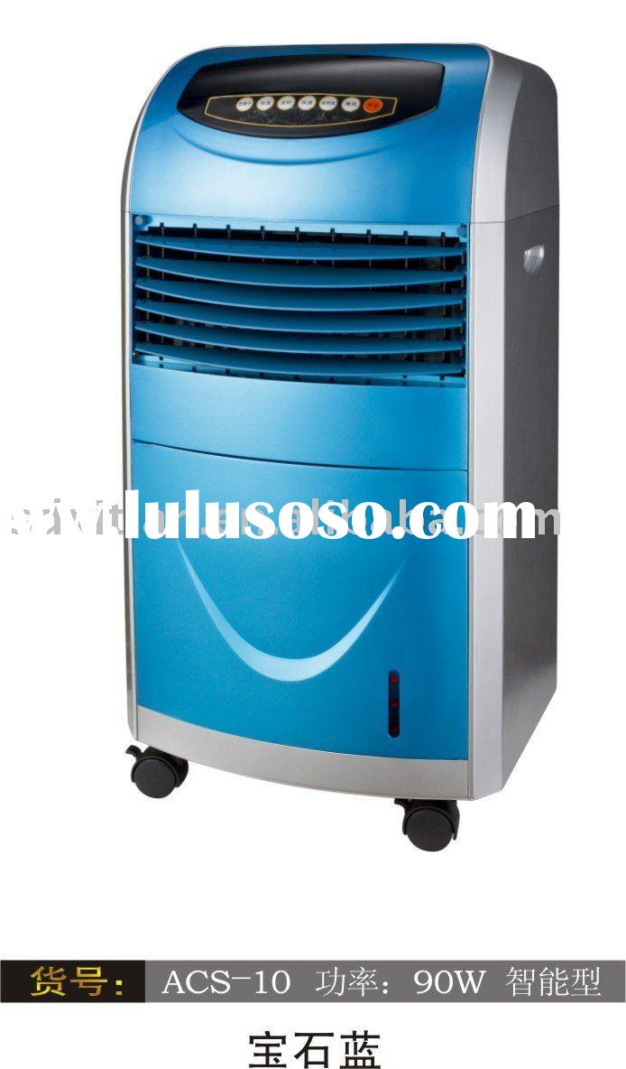 Honey-comb air conditioner fan with powerful wind