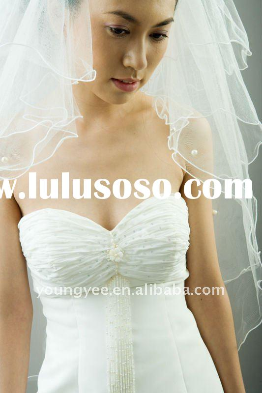Hot Grant bridal wedding veil 2011,ivory cathedral wedding veil,long wedding veil